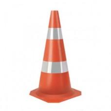 Cone em PVC 75cm Refletivo
