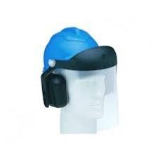 Capacete + Protetor Facial + Abafador